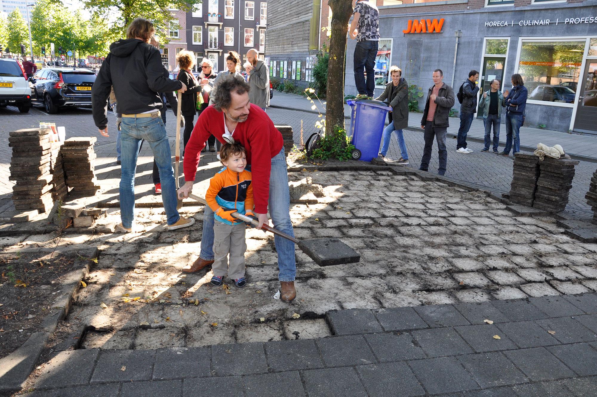 Park om de Hoek - Groene buurtparken en pleinen in Amsterdam